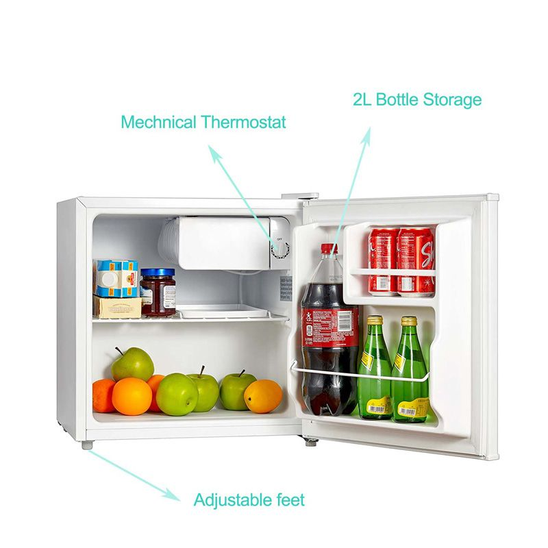 smad mini fridge can get Half width freezer section