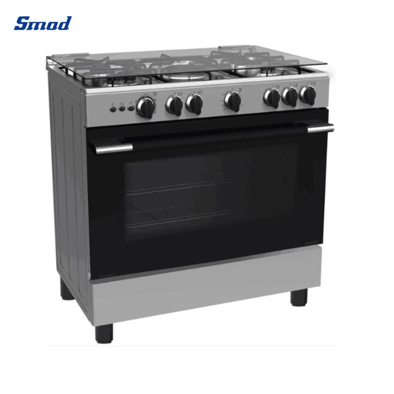Smad freestanding pizza drying oven with 4 gas burner