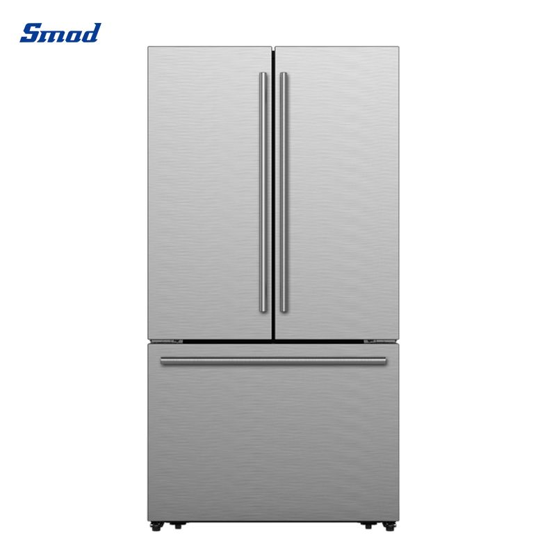 Smad best french door refrigerator with grip handle