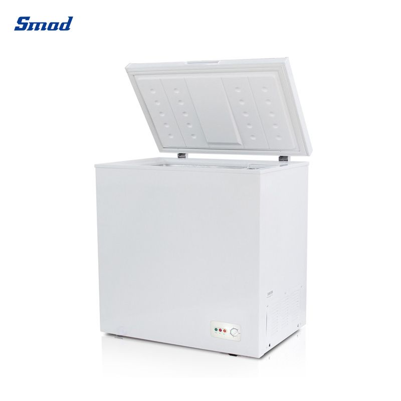 Smad chest freezer 7cu ft opened with huge capacity