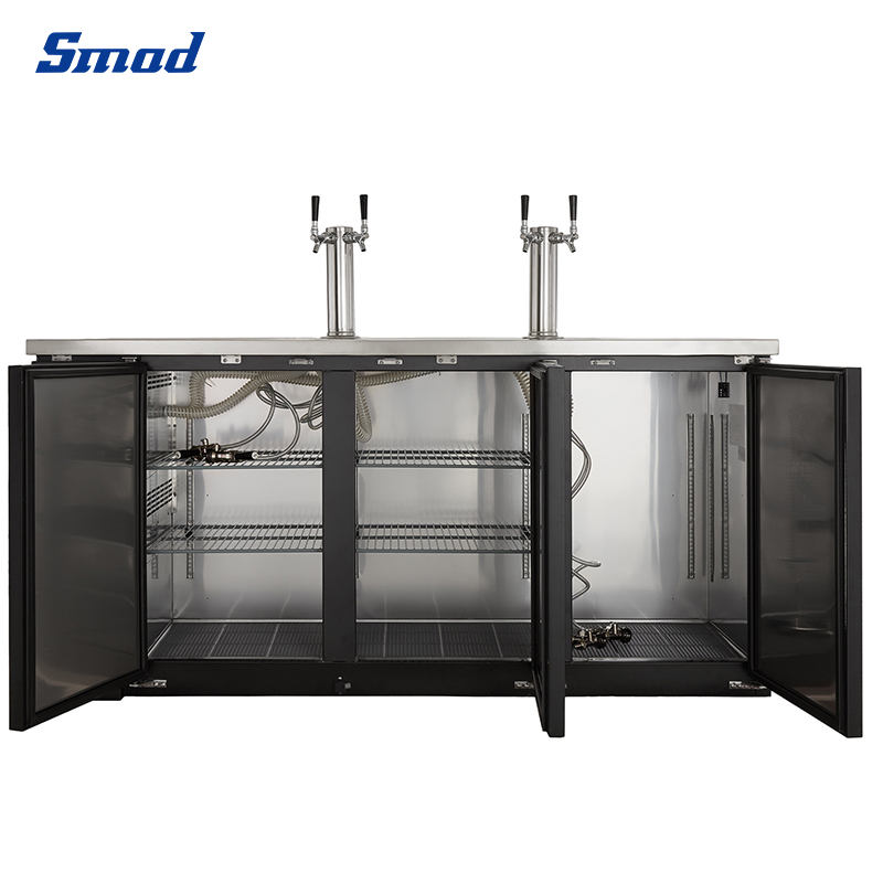 Smad have Stainless Steel  Beer Dispenser Refrigerators