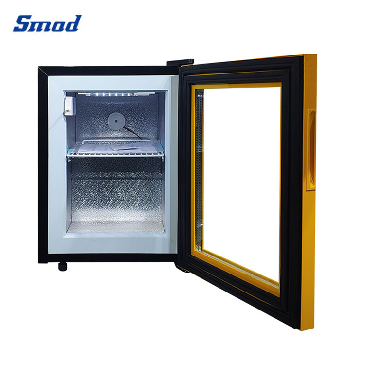 smad has a mini upright freezer