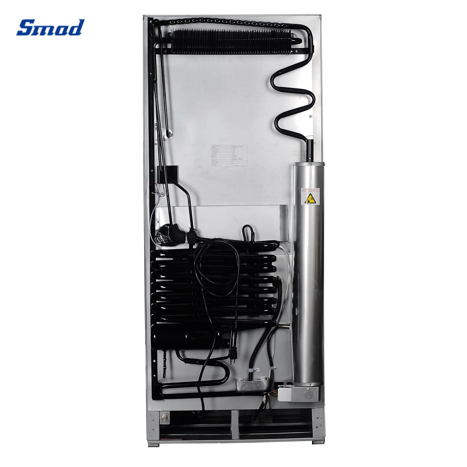 Smad gas refrigerator back and its absorption system
