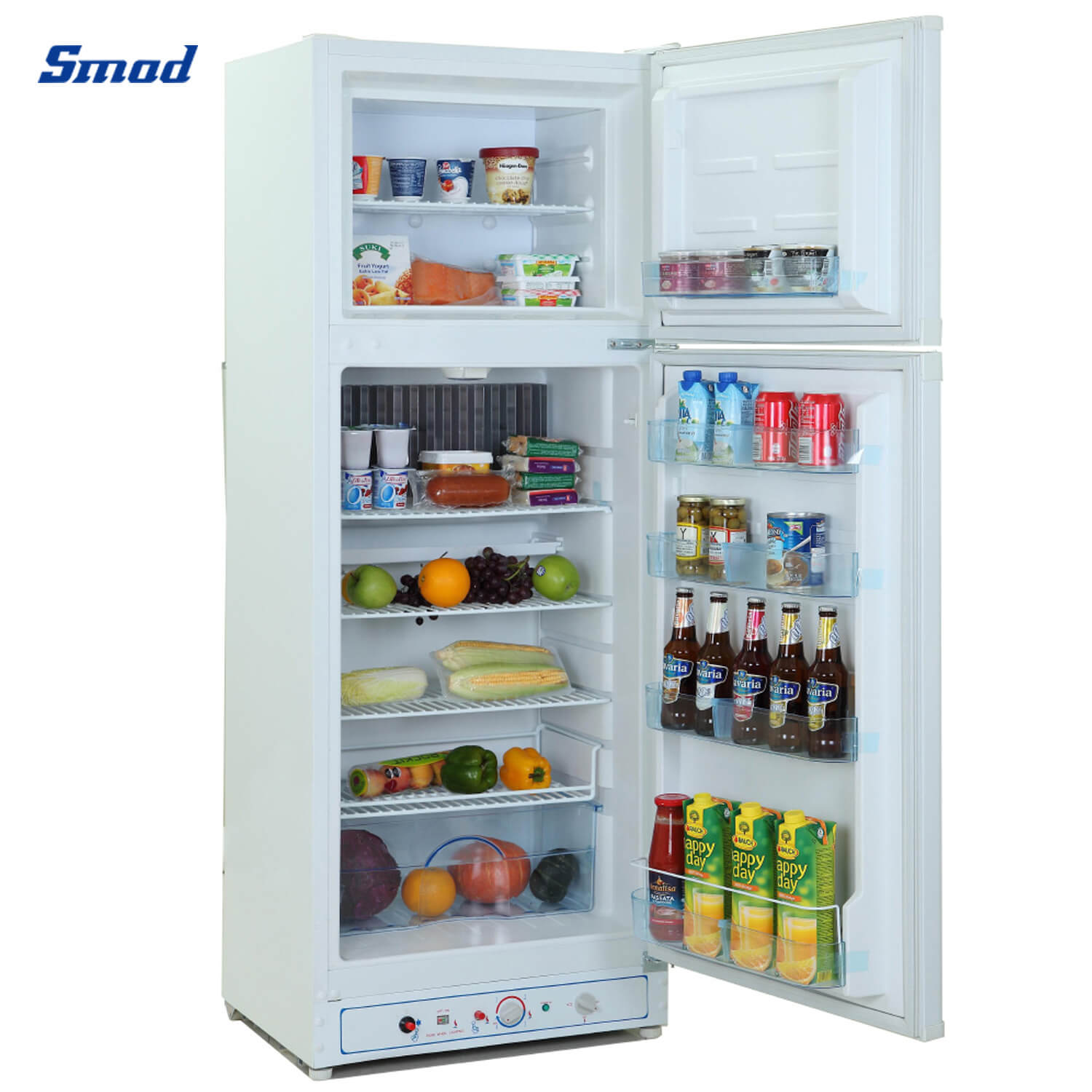 Smad gas refrigerator with big capacity