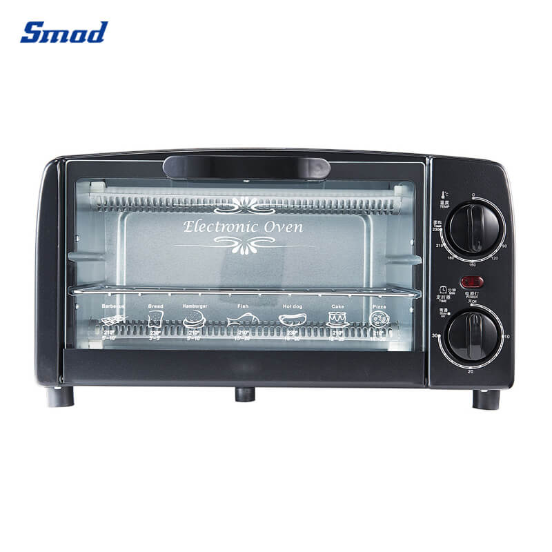 Smad microwave oven toaster upper+lower heating