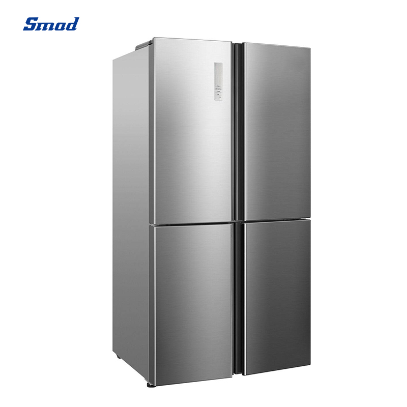 Smad no frost cross 4 door refrigerator with intergrated design and good finishing