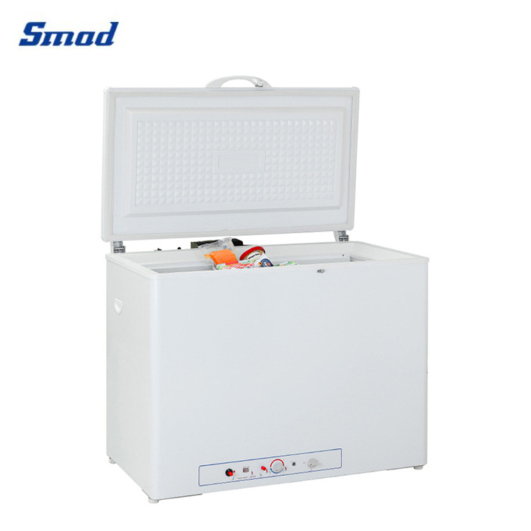Smad electric gas absorption refrigerator with advanced absorption cooling system.